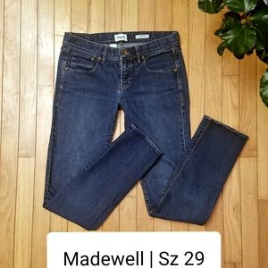Madewell jeans | Skinny Low Worker | 29 x 32""